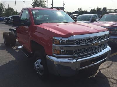 2019 Silverado 3500 Regular Cab DRW 4x4,  Cab Chassis #123353 - photo 3