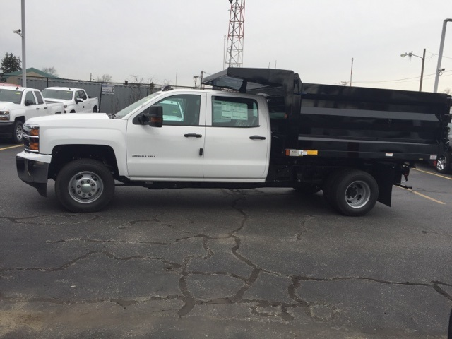 2019 Silverado 3500 Crew Cab DRW 4x4,  Dump Body #133090 - photo 2