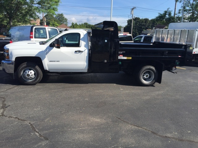 2017 Silverado 3500 Regular Cab 4x4, Dump Body #236451 - photo 4