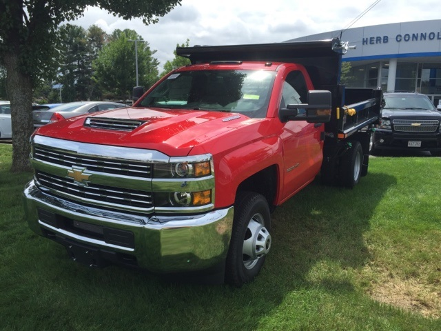 2017 Silverado 3500 Regular Cab 4x4 Dump Body #239125 - photo 1
