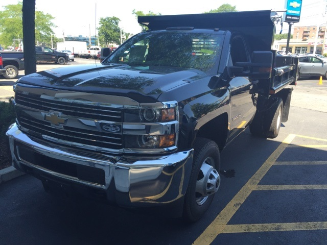 2018 Silverado 3500 Regular Cab DRW 4x4,  Rugby Eliminator LP Steel Dump Body #272895 - photo 1