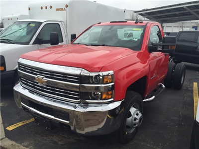 2018 Silverado 3500 Regular Cab DRW 4x4,  Cab Chassis #304061 - photo 1