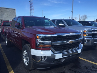 2018 Silverado 1500 Crew Cab 4x4, Pickup #305528 - photo 4