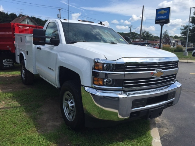 2018 Silverado 3500 Regular Cab 4x4,  Knapheide Service Body #321584 - photo 3