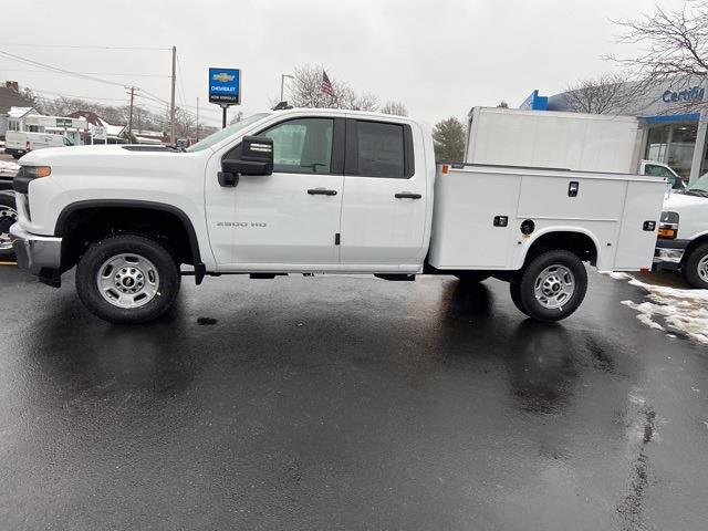 2021 Chevrolet Silverado 2500 Double Cab 4x4, Knapheide Steel Service Body #MF152201 - photo 4