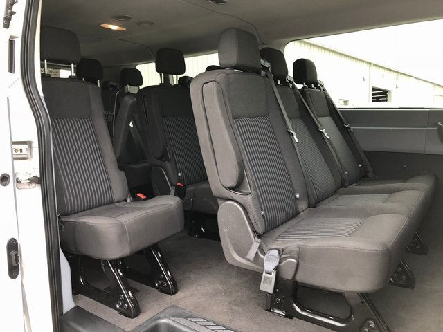 2017 Transit 350 Low Roof 4x2,  Passenger Wagon #8640R - photo 14