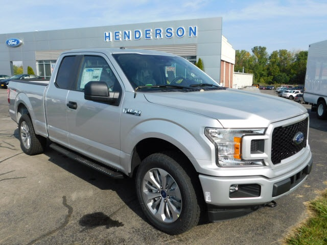 2018 F-150 Super Cab 4x4, Pickup #H180042 - photo 1