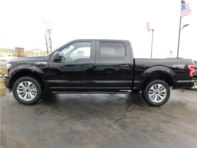 2018 F-150 Crew Cab 4x4, Pickup #H180274 - photo 4