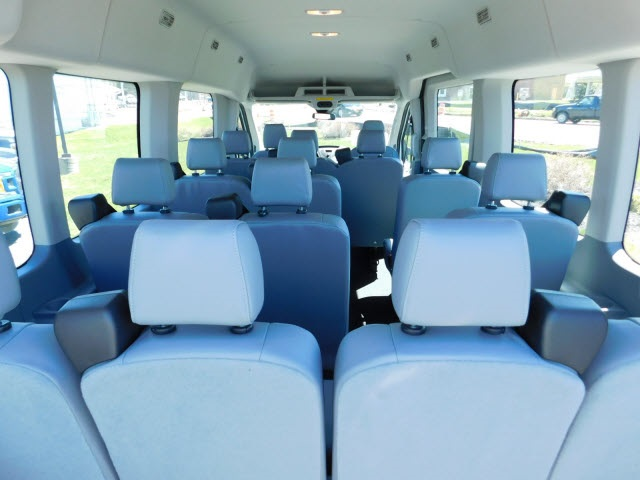 2018 Transit 350 Med Roof, Passenger Wagon #H180300 - photo 10