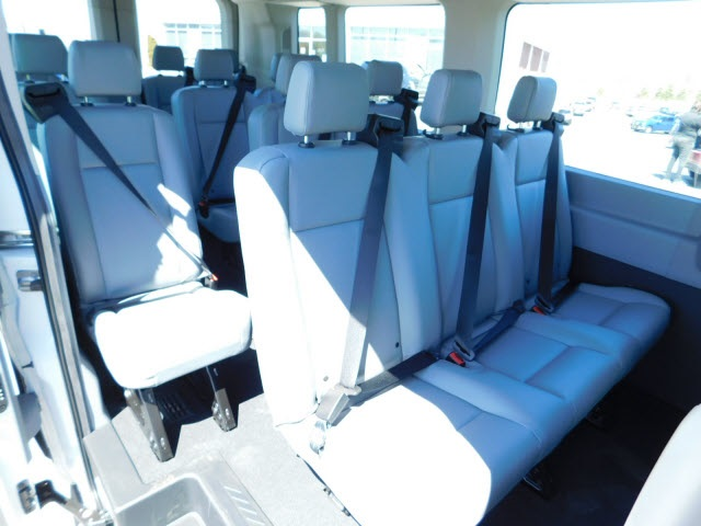 2018 Transit 350 Med Roof, Passenger Wagon #H180300 - photo 9