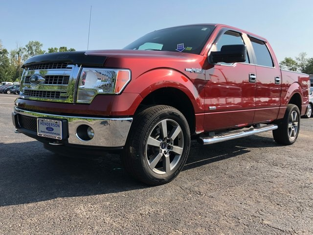 2014 F-150 SuperCrew Cab 4x4,  Pickup #H180553A - photo 3