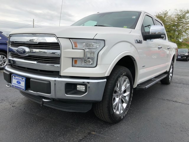 2016 F-150 SuperCrew Cab 4x4,  Pickup #H180757A - photo 3