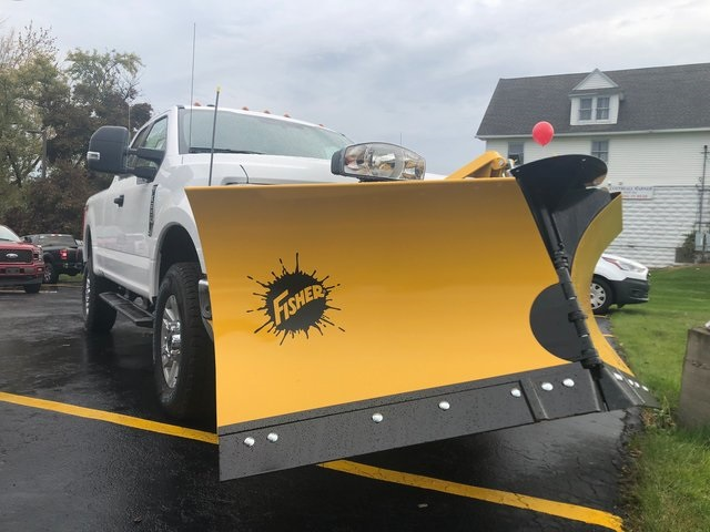 2019 F-250 Super Cab 4x4,  Fisher Snowplow Pickup #H190011 - photo 1