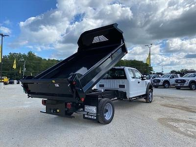 2021 F-550 Super Cab DRW 4x4,  Crysteel E-Tipper Dump Body #04T180 - photo 2
