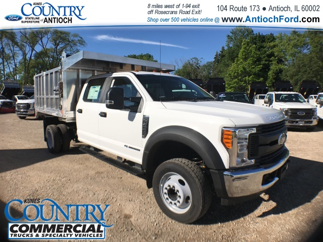 2017 F-450 Crew Cab DRW, Monroe Landscape Dump #AT08762 - photo 3