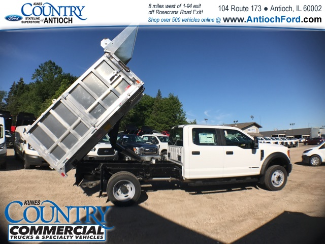 2017 F-450 Crew Cab DRW, Monroe Landscape Dump #AT08762 - photo 35