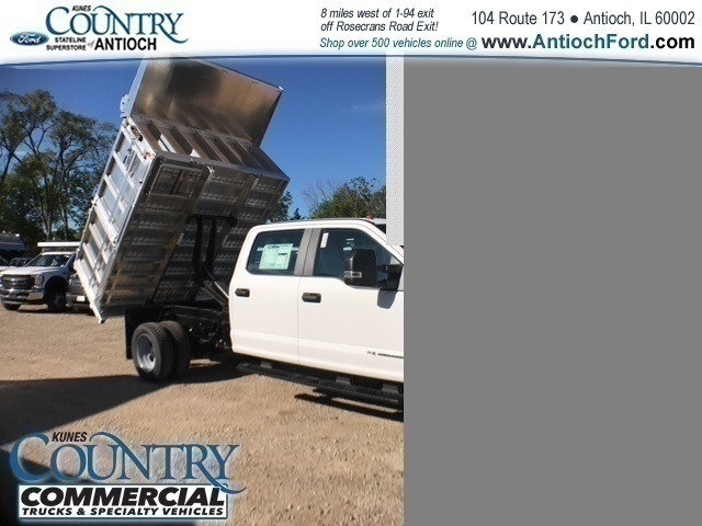 2017 F-450 Crew Cab DRW 4x2,  Tafco Landscape Dump #AT08762 - photo 34