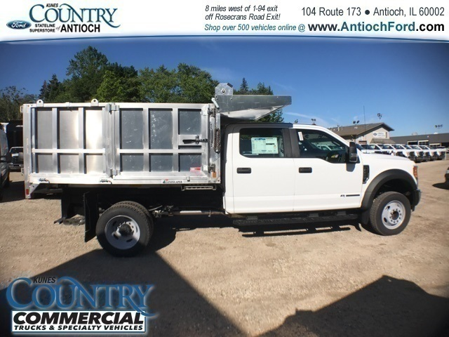 2017 F-450 Crew Cab DRW 4x2,  Tafco Landscape Dump #AT08762 - photo 3