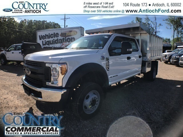 2017 F-450 Crew Cab DRW 4x2,  Tafco Landscape Dump #AT08762 - photo 7
