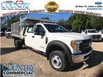 2017 F-450 Crew Cab DRW 4x2,  Tafco Landscape Dump #AT08762 - photo 1