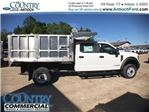 2017 F-450 Crew Cab DRW, Tafco Landscape Dump #AT08762 - photo 3