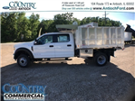 2017 F-450 Crew Cab DRW, Tafco Landscape Dump #AT08762 - photo 6