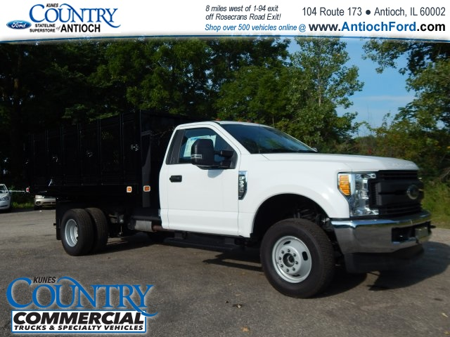 2017 F-350 Regular Cab DRW 4x4, Knapheide Stake Bed #AT08819 - photo 3