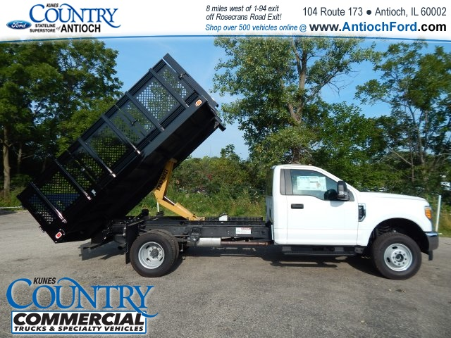 2017 F-350 Regular Cab DRW 4x4, Knapheide Stake Bed #AT08819 - photo 18