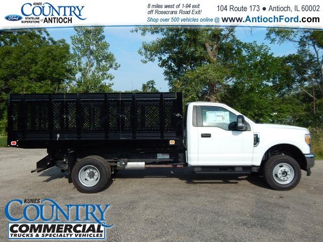 2017 F-350 Regular Cab DRW 4x4, Knapheide Stake Bed #AT08819 - photo 4