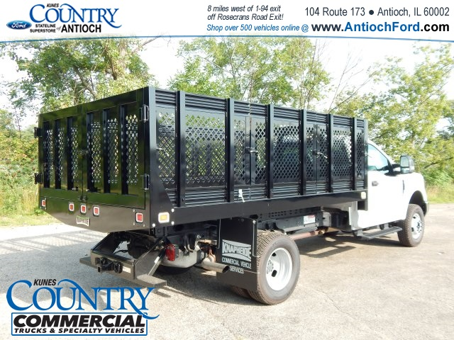 2017 F-350 Regular Cab DRW 4x4, Knapheide Stake Bed #AT08819 - photo 5