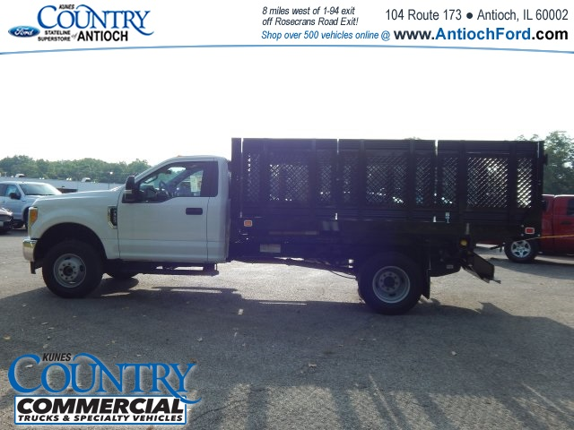 2017 F-350 Regular Cab DRW 4x4, Knapheide Stake Bed #AT08819 - photo 7