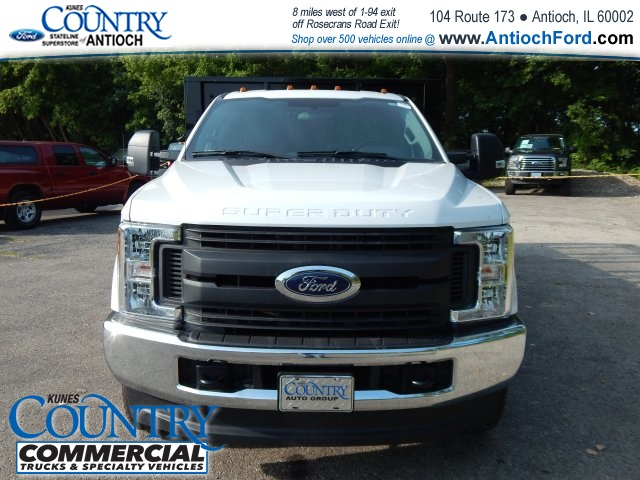 2017 F-350 Regular Cab DRW 4x4, Knapheide Stake Bed #AT08819 - photo 8