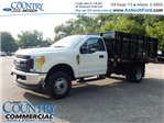 2017 F-350 Regular Cab DRW 4x4, Knapheide Stake Bed #AT08819 - photo 1
