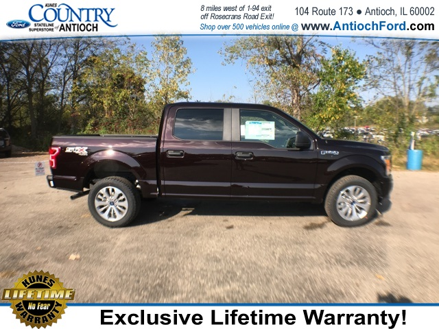 2018 F-150 Crew Cab 4x4 Pickup #AT08847 - photo 6