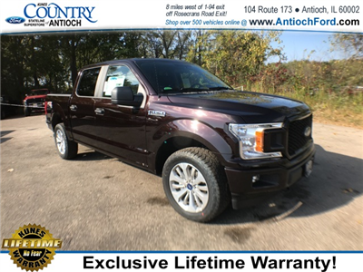 2018 F-150 Crew Cab 4x4 Pickup #AT08847 - photo 5
