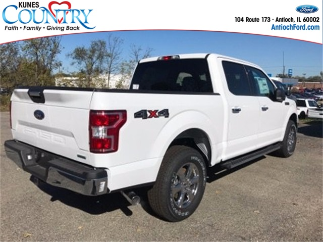 2018 F-150 Crew Cab 4x4, Pickup #AT08873 - photo 4
