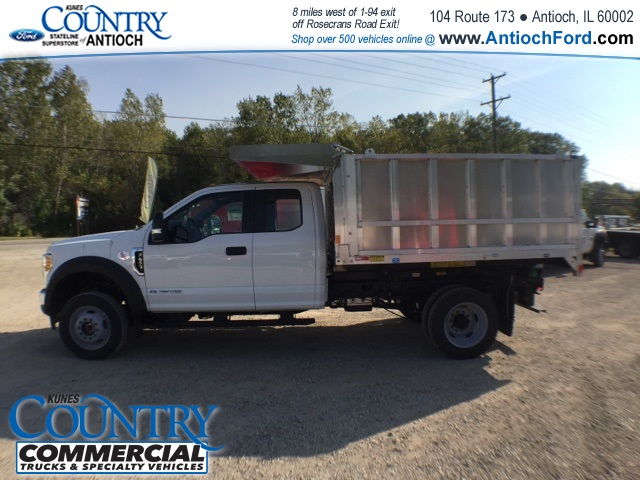 2017 F-450 Super Cab DRW 4x4, Monroe Landscape Dump #AT08896 - photo 9
