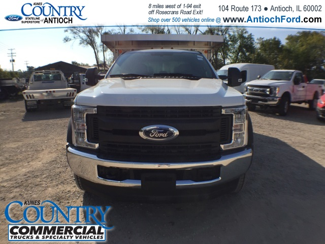 2017 F-450 Super Cab DRW 4x4, Monroe Landscape Dump #AT08896 - photo 10