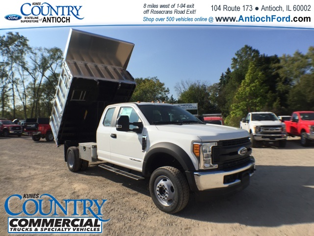 2017 F-450 Super Cab DRW 4x4, Monroe Landscape Dump #AT08896 - photo 36