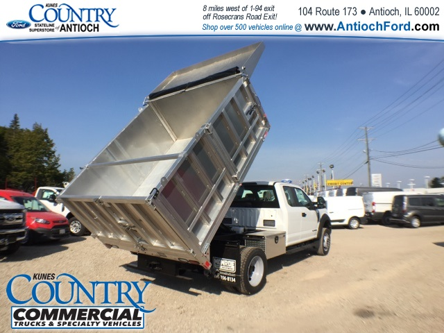 2017 F-450 Super Cab DRW 4x4, Monroe Landscape Dump #AT08896 - photo 38