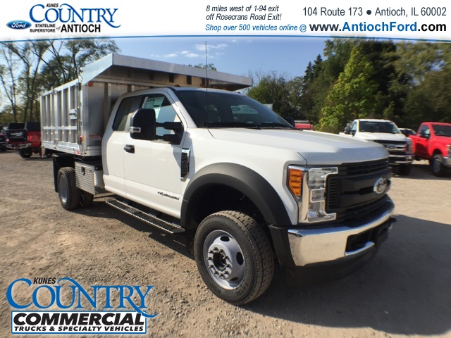 2017 F-450 Super Cab DRW 4x4, Monroe Landscape Dump #AT08896 - photo 4