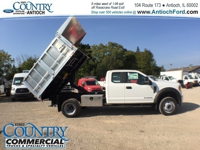 2017 F-450 Super Cab DRW 4x4, Tafco Landscape Dump #AT08896 - photo 35