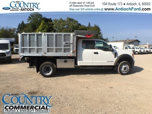 2017 F-450 Super Cab DRW 4x4, Tafco Landscape Dump #AT08896 - photo 3