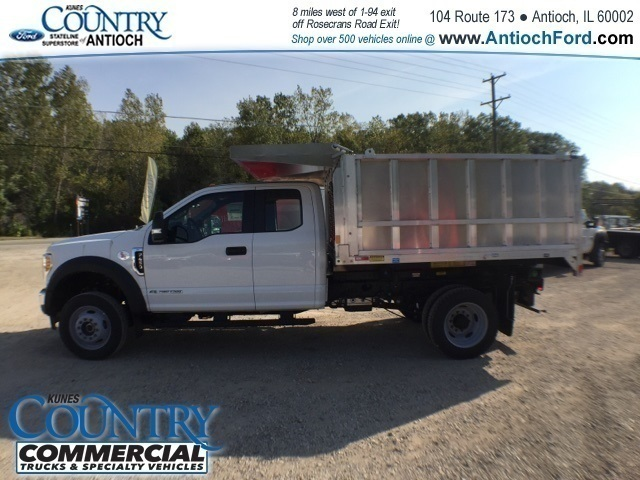 2017 F-450 Super Cab DRW 4x4, Tafco Landscape Dump #AT08896 - photo 6