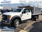 2017 F-450 Super Cab DRW 4x4, Monroe Landscape Dump #AT08896 - photo 1