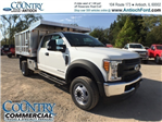 2017 F-450 Super Cab DRW 4x4, Tafco Landscape Dump #AT08896 - photo 1