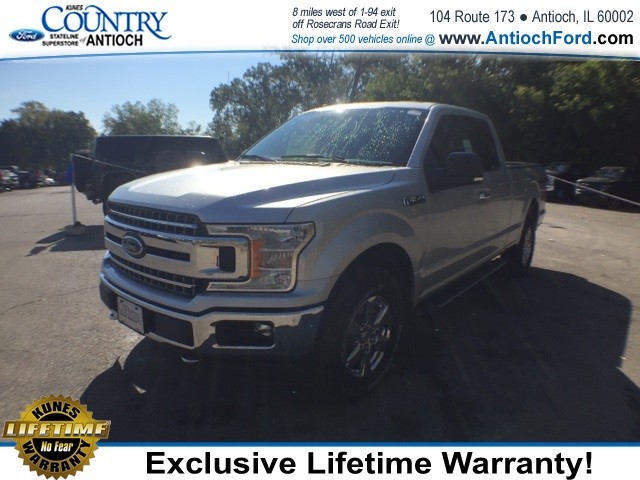 2018 F-150 Super Cab 4x4 Pickup #AT08903 - photo 3