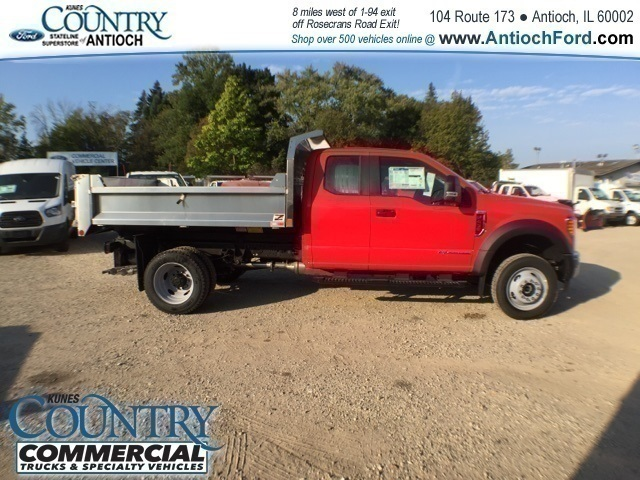 2017 F-450 Super Cab DRW 4x4,  Monroe Dump Body #AT08905 - photo 3