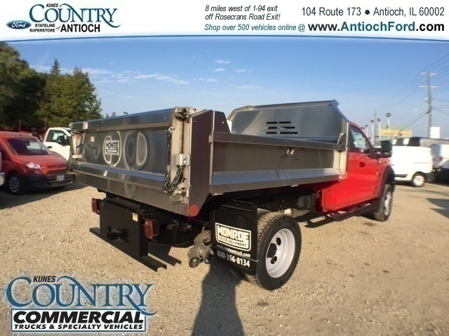 2017 F-450 Super Cab DRW 4x4,  Monroe Dump Body #AT08905 - photo 2
