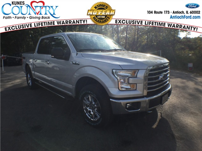 2017 F-150 Crew Cab 4x4 Pickup #AT08940 - photo 1